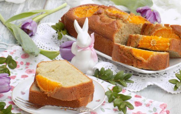 Pomarańczowe ciasto z herbatą
