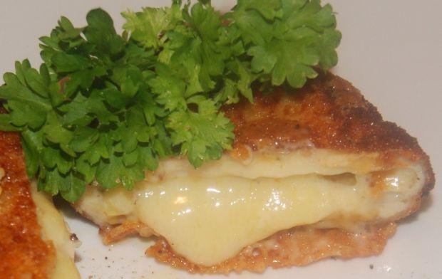 Prawie cordon bleu ( bez szynki )wg Buni