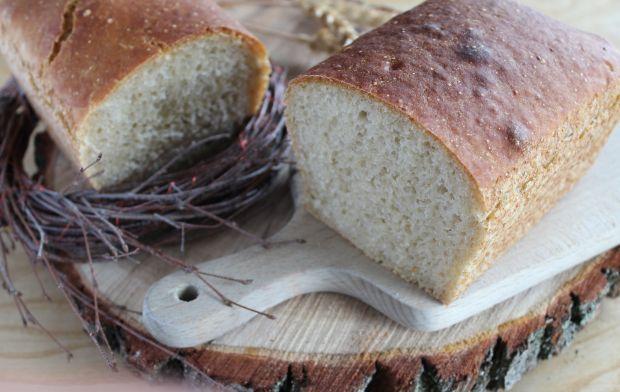 Pszenny chleb z piwem na zakwasie
