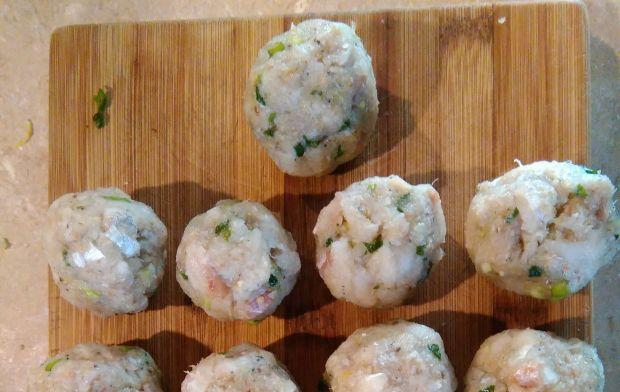 Pulpeciki rybne zapiekane w sosie śmietanowym