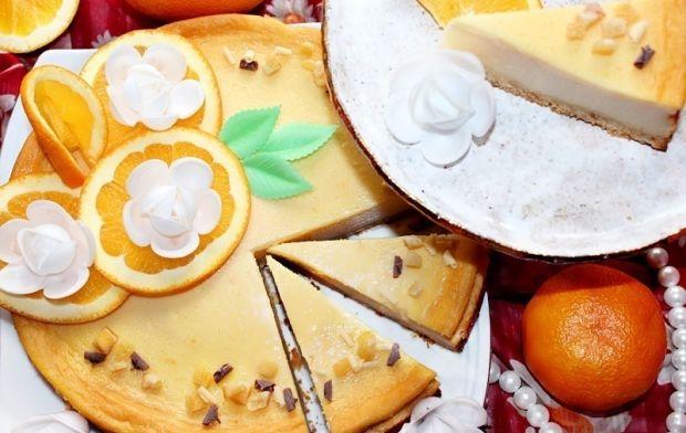 Pyszny sernik pomarańczowy