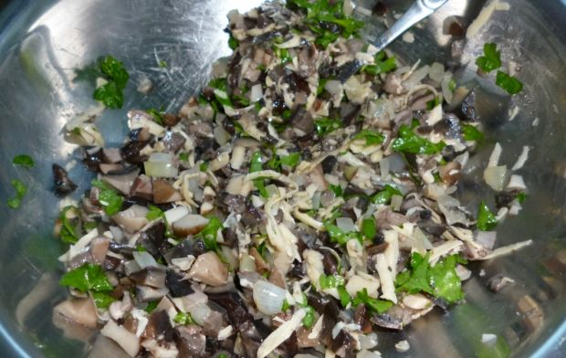 Roladki schabowe z grzybami