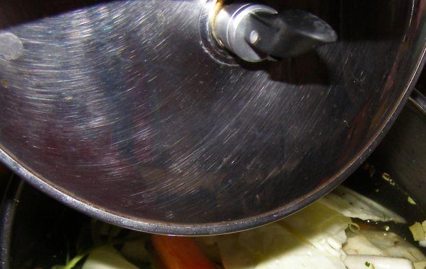 Rosół drobiowy mieszany z szybkowara