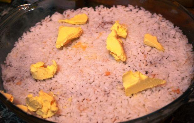 Ryż zapiekany z jabłkami