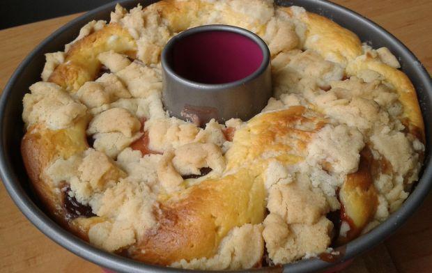 Śliwkowe ciasto z kruszonką