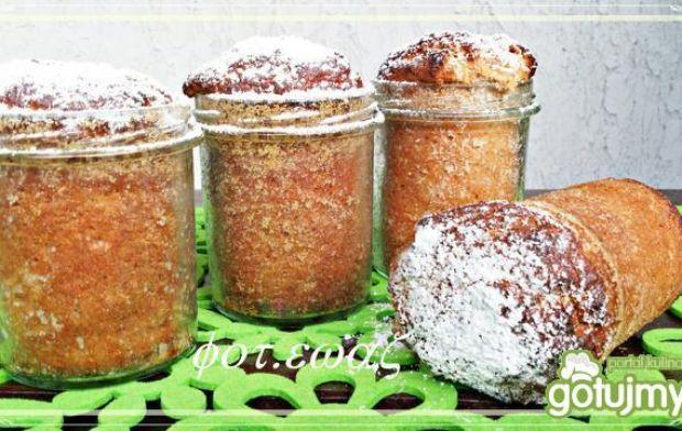 Słoikowe babeczki truskawkowe