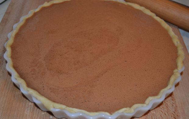 Tarta dyniowo - czekoladowa z imbirem
