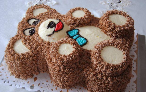 Tort miś dla chłopca