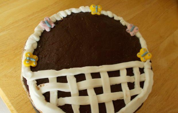 Tort Wielkanocny koszyczek