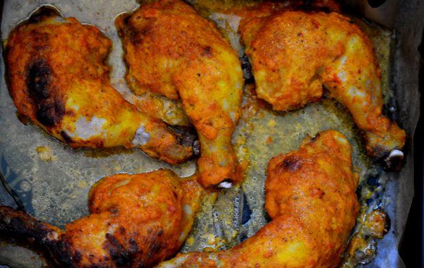 Udka dyniowo -  imbirowe z pikantną curry