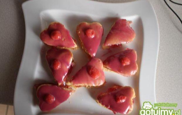 Walentynkowe delicje z galaretką :)