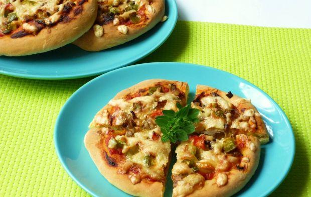 Wegetariańskie mini pizze