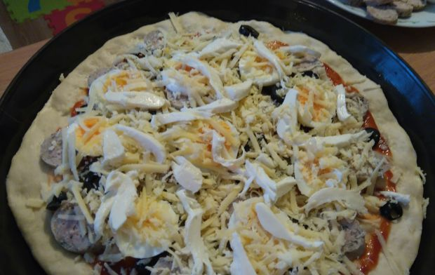 Wielkanocna pizza