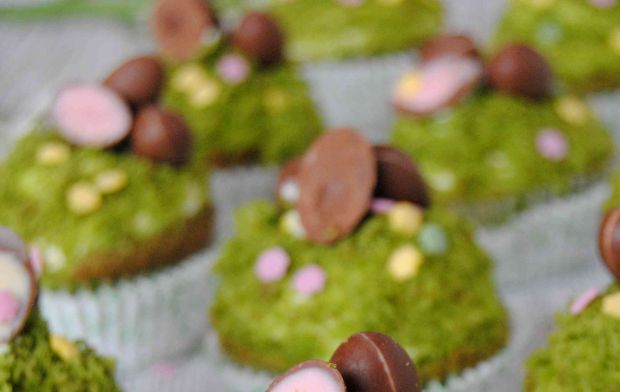 Wielkanocne muffinki