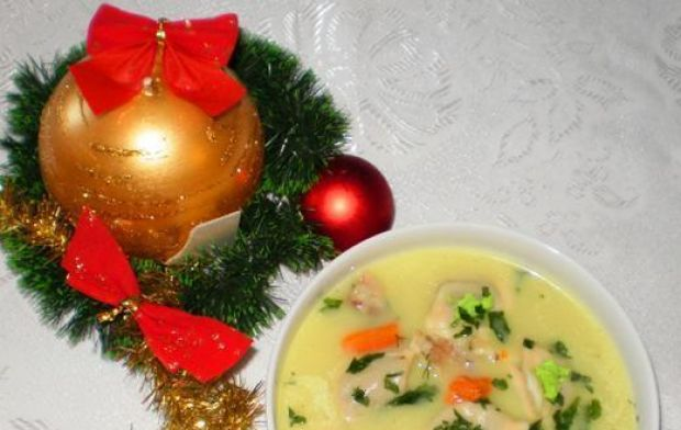 Wigilijna zupa z karpia rodem z kresów