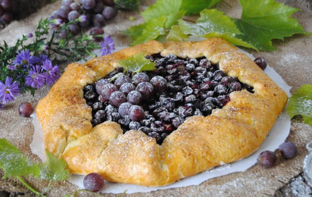 Winogronowa tarta