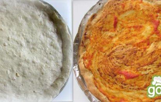 Wiosenna pizza