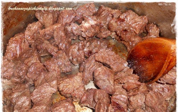 Wołowina na dziko z leśnymi grzybami