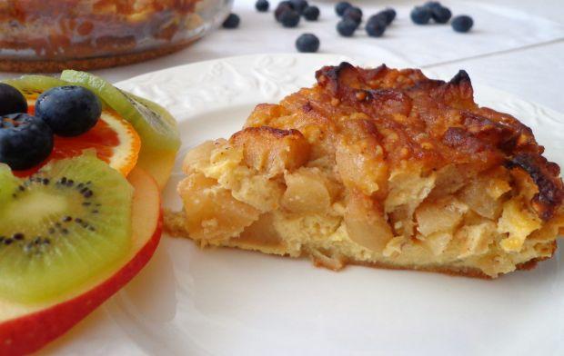 Zapiekana frittata z jabłkami