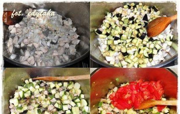 Zapiekanka makaronowa z bakłażanem