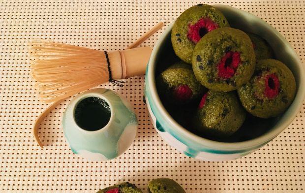 Zielone babeczki Matcha