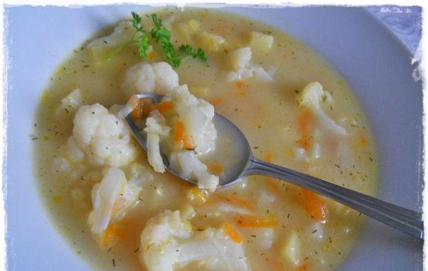 Zupa kalafiorowa na maśle
