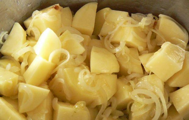 Zupa krem z cukinii z serem camembert