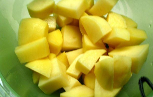 Zupa krem z jabłkiem