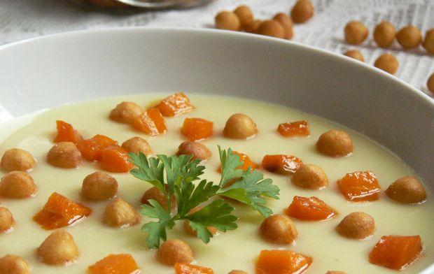 Zupa krem z kalafiora i ziemniaczanego purre