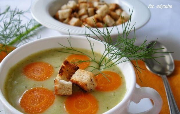 Zupa krem z liści kalafiora
